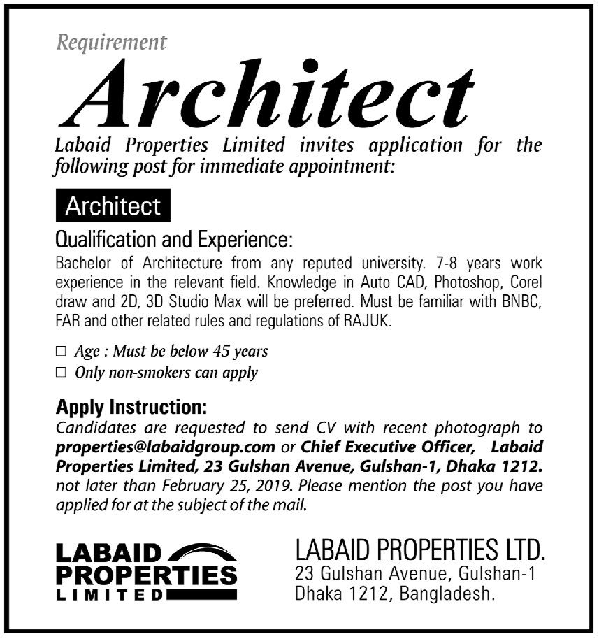 Architect | NRBJobs com